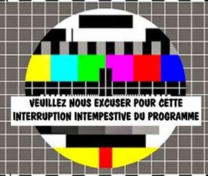 interruption+de+programme