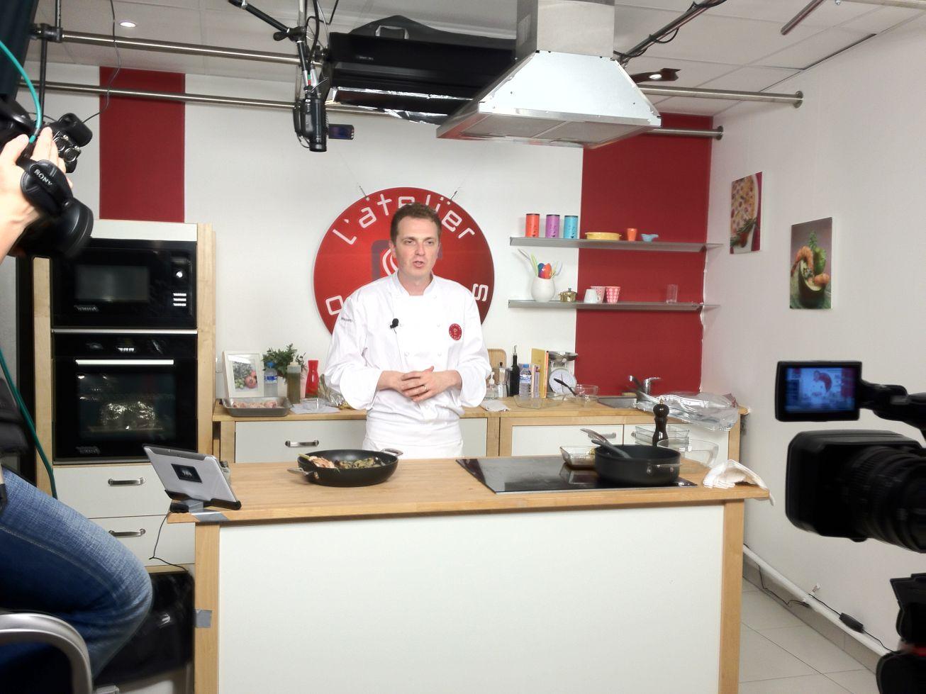 Cours de cuisine l 39 atelier des chefs for Atelier cours de cuisine
